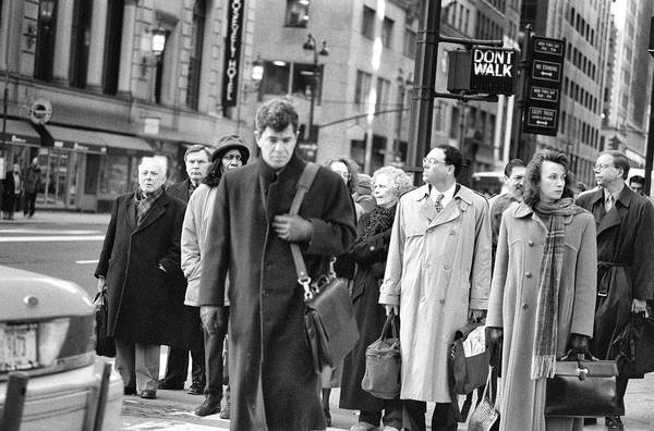 Crossing Manhattan Art Print