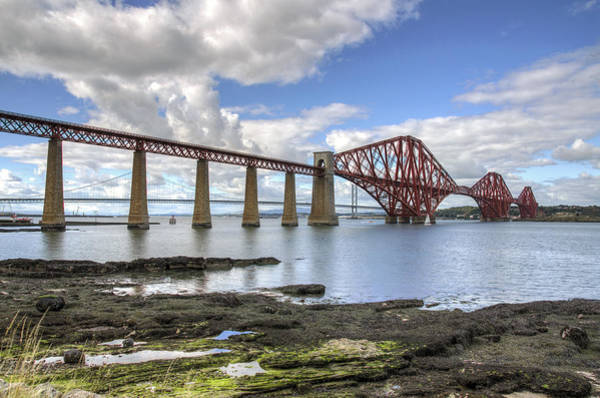 Photograph - Crossing The Forth by Ross G Strachan