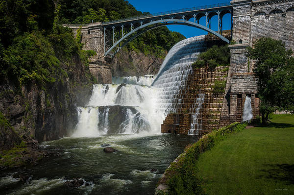 Croton Dam 2 Art Print