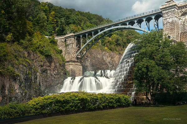 Photograph - Croton Dam Summer 2 by Frank Mari