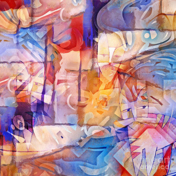 Painting - Crowdy by Lutz Baar