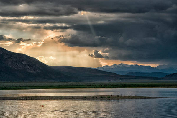 Eastern Sierra Photograph - Crowley Lake by Cat Connor