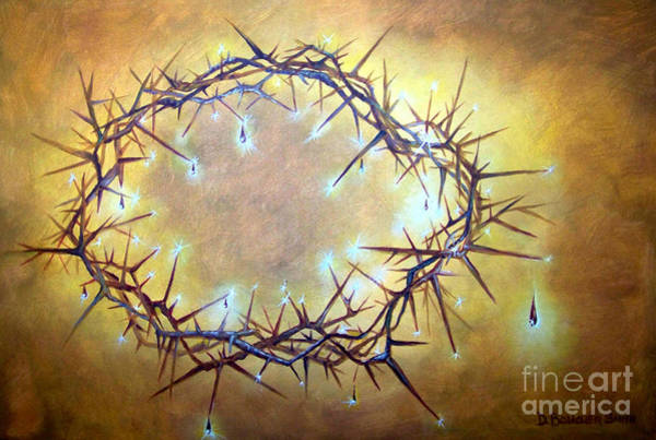 Scriptural Painting - Crown Jewels by Deborah Smith