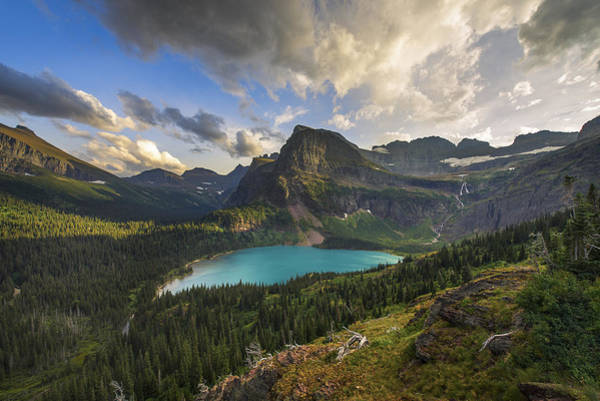 Glacier National Park Photograph - Crown Of The Continent by Joseph Rossbach
