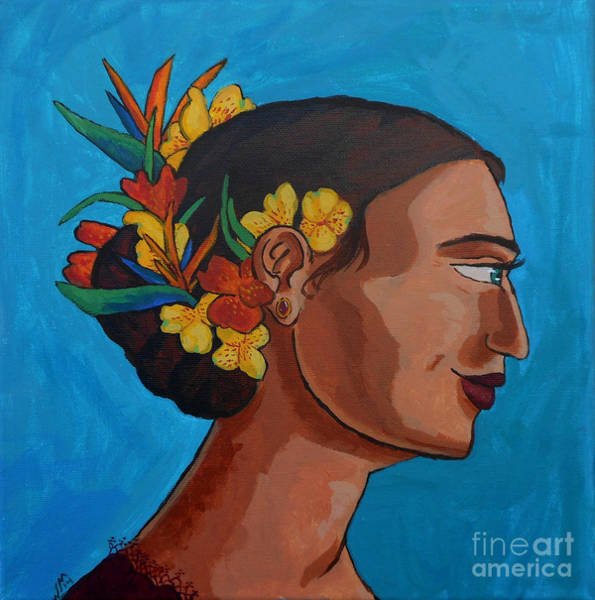 Painting - Crowned With Flowers by Whitney Morton