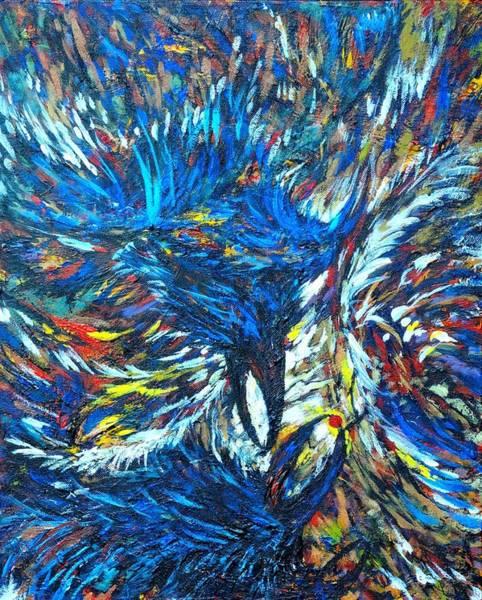 Tacoma Painting - Crows by Charles Munn