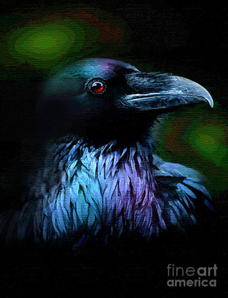Wall Art - Painting - Crowshine by Robert Foster