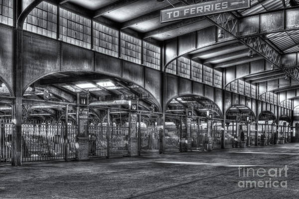 Photograph - Crrnj Terminal Vii by Clarence Holmes