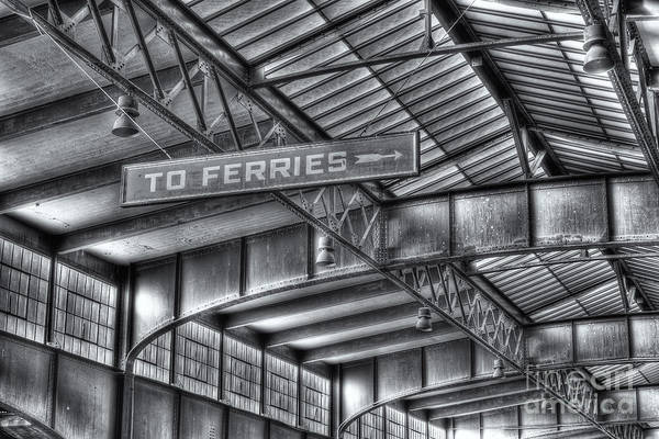 Photograph - Crrnj Terminal Viii by Clarence Holmes
