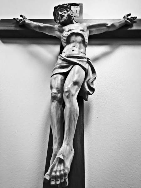 Photograph - Crucifix by Chris Montcalmo