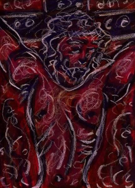 Drawing - Crucifixion I by Rachel Scott