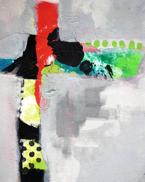 Scribble Painting - Cruciform 4 by Nancy Merkle