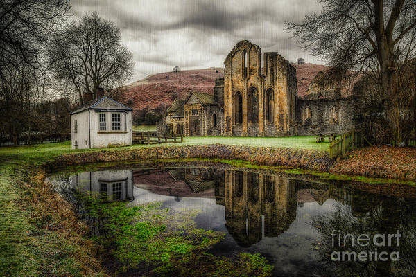 Abbey Photograph - Crucis Abbey by Adrian Evans