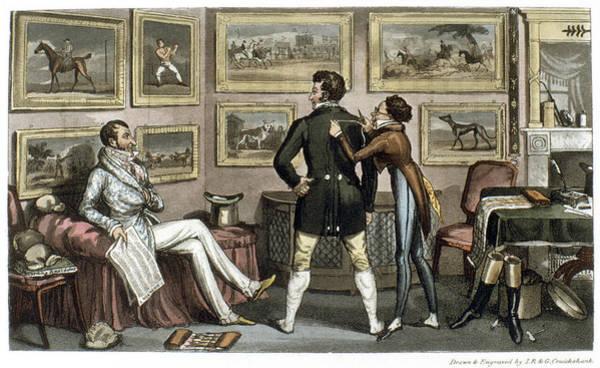 Painting - Cruikshank Tailor, 1820 by Granger