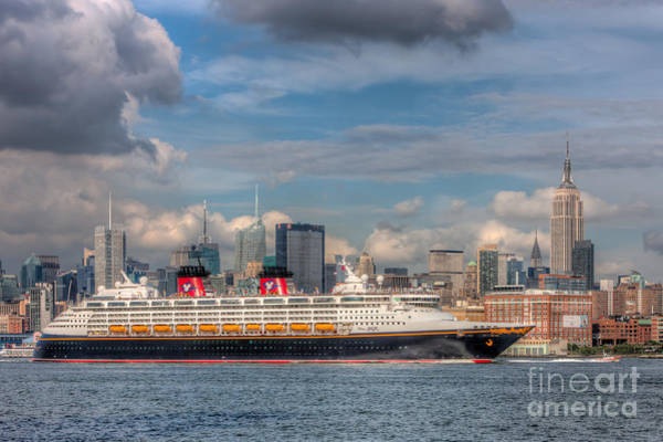 Photograph - Cruise Ship Disney Magic I by Clarence Holmes