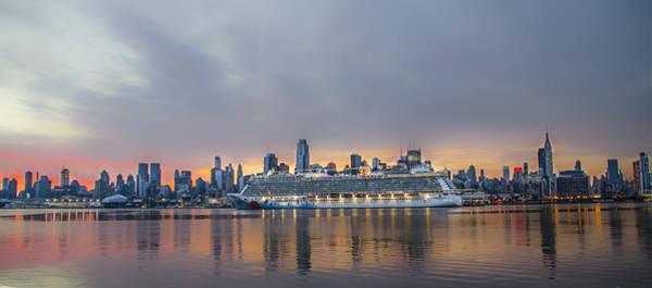 Wall Art - Photograph - Cruising The Hudson At Dawn by Bill Cannon