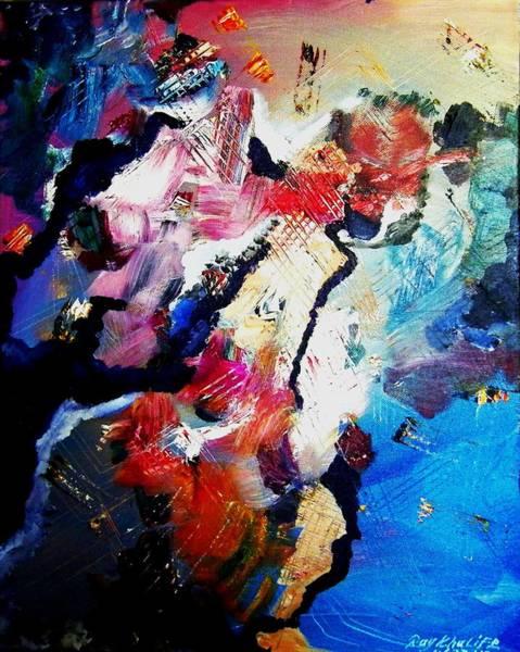 Painting - Cruising Thru. The Islands by Ray Khalife