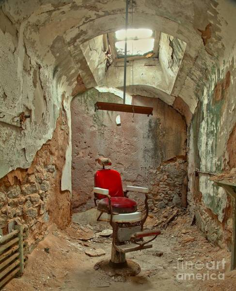 Photograph - Crumbling Aroud The Barber by Adam Jewell
