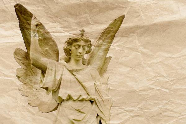 Photograph - Crumpled Angel by Alice Gipson