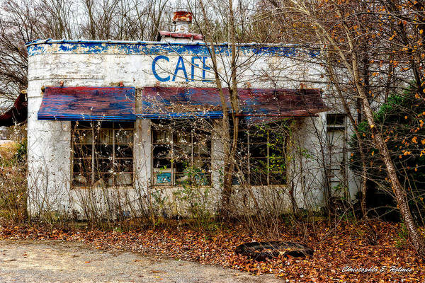 Photograph - Crusty Cafe' by Christopher Holmes
