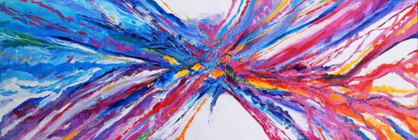 Dominate Painting - Crux by Expressionistart studio Priscilla Batzell