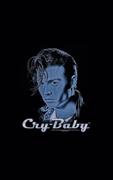 Crying Digital Art - Cry Baby - King Cry Baby by Brand A