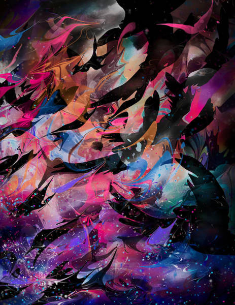 Crying Digital Art - Cry Of The Birds by Rachel Christine Nowicki