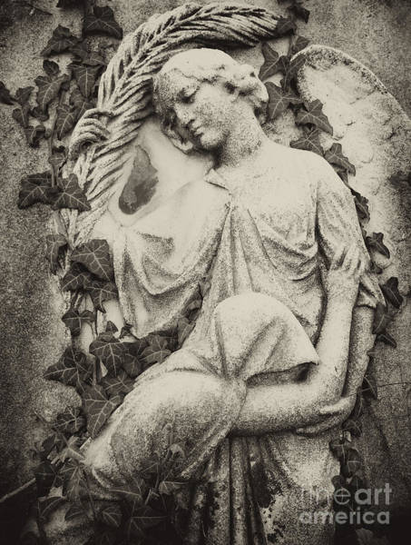 Burried Photograph - Crying With Angel by TeaBum Originals