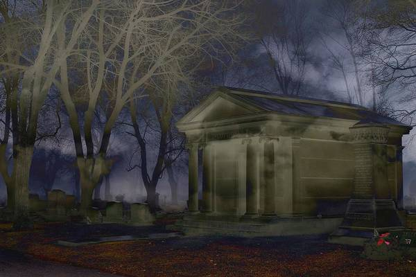 Photograph - Crypt by Rebecca Frank