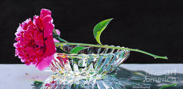 Crystal Beauty Art Print by Arlene Steinberg