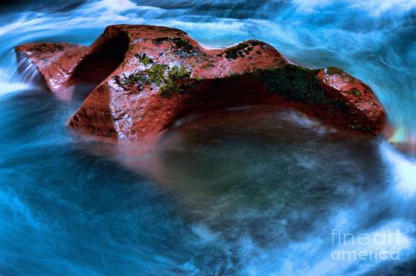 Photograph - Crystal Blue by Adam Jewell