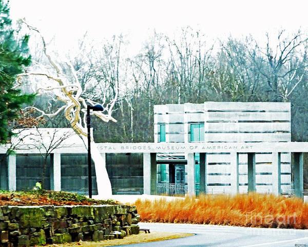 Photograph - Crystal Bridges Museum Of American Art Bentonville Ar by Lizi Beard-Ward