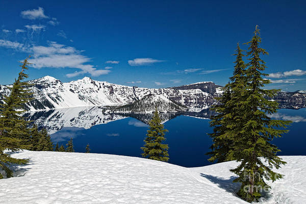 Photograph - Crystal Clear At Crater Lake by Stuart Gordon