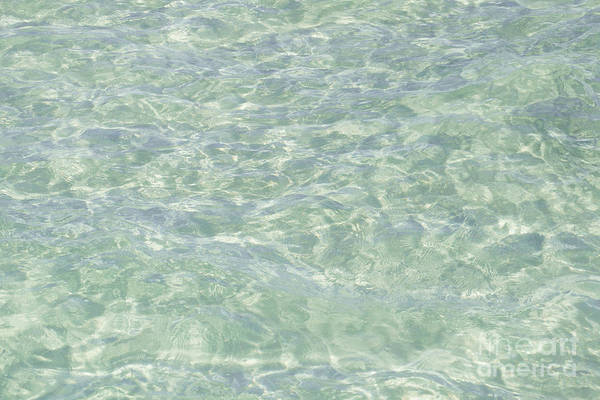 Mellow Photograph - Crystal Clear Atlantic Ocean Key West by Ian Monk