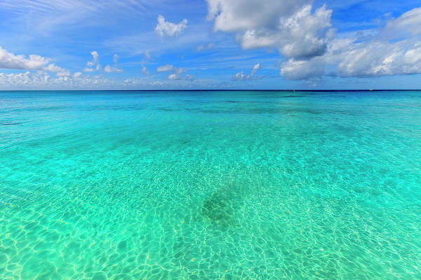 Crystal Clear Water Of Barbados Art Print