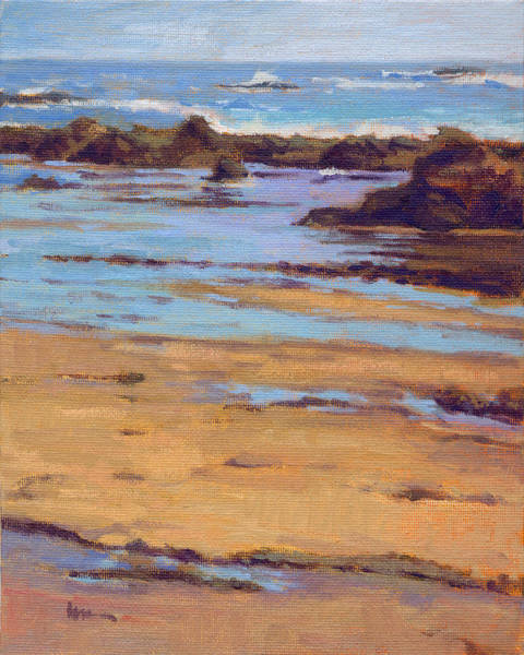 Art Print featuring the painting Crystal Cove by Konnie Kim