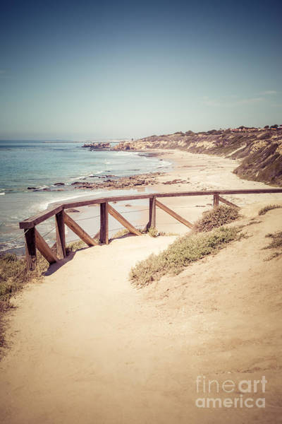 Crystal Coast Photograph - Crystal Cove Overlook Picture by Paul Velgos