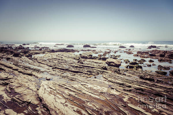 Crystal Coast Photograph - Crystal Cove Rock Formations And Tide Pools Picture by Paul Velgos