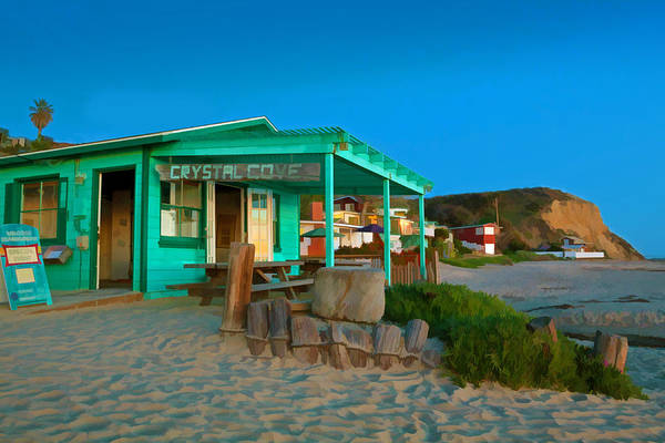 Orange County Digital Art - Crystal Cove State Beach by Cliff Wassmann