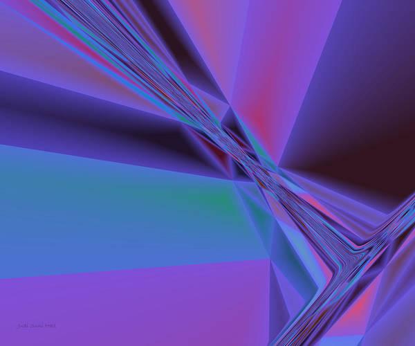 Digital Art - Crystal Dawn by Judi Suni Hall