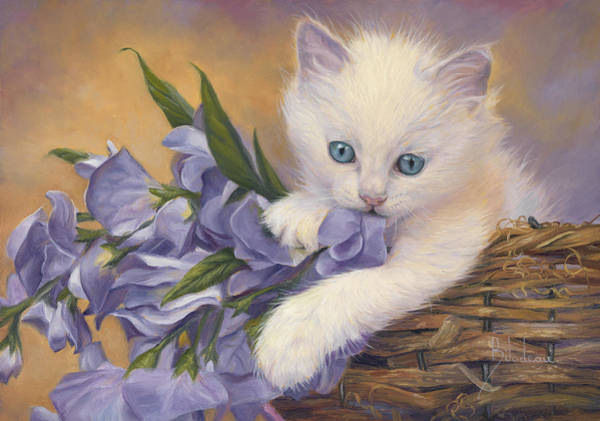 Painting - Crystal Eyes by Lucie Bilodeau