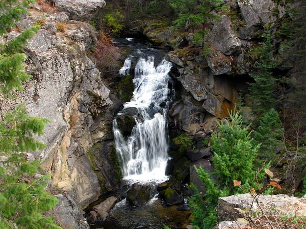 Patzer Photograph - Crystal Falls by Greg Patzer