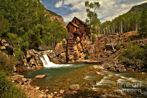 Photograph - Crystal Mill Landscape by Adam Jewell