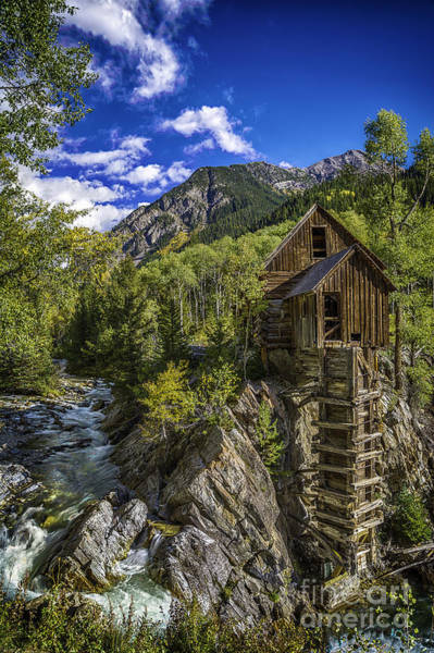 Photograph - Crystal Mill by Bitter Buffalo Photography