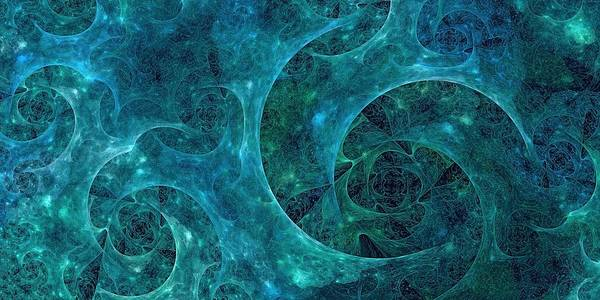 Digital Art - Crystal Nebula-ii by Doug Morgan