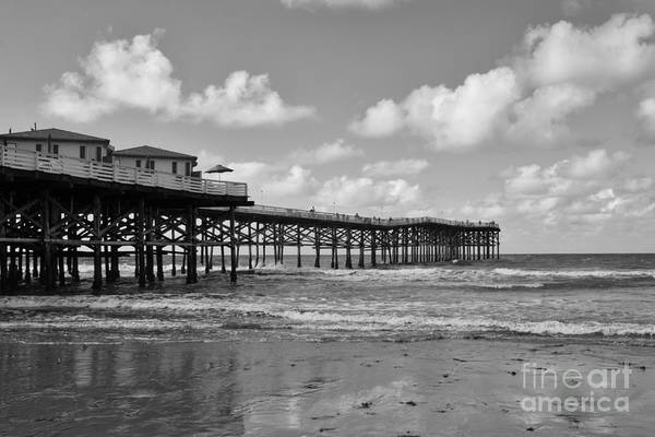 Wall Art - Photograph - Crystal Pier In Pacific Beach by Ana V Ramirez