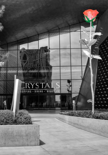 Mall Photograph - Crystal Rose by Ricky Barnard