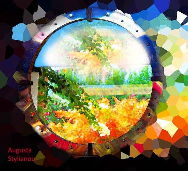 Digital Art - Crystallized Landscape by Augusta Stylianou