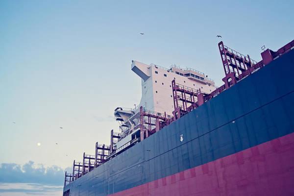 Daewoo Wall Art - Photograph - Csav Trancura Cargo by Cristina-Velina Ion