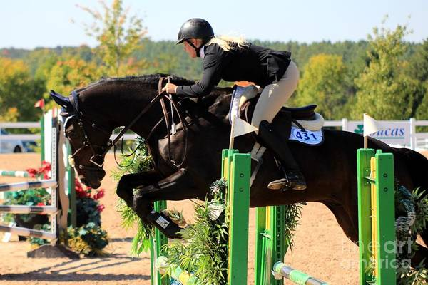 Photograph - Csjt-jumper18 by Janice Byer